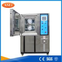 Buy cheap Customized Inner Programmable Humidity Temperature Test Chamber Air Cooling from wholesalers