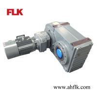 China High Ratio F Series Helical Reduction Gearboxes with inline helical gear Motors on sale