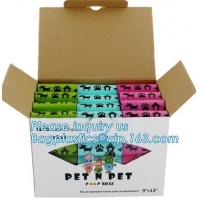 Quality Scented Eco Friendly Dog Products Mixed Dog Pet Waste Poop Bags Refill Rolls for sale
