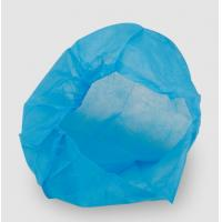 Quality Disposable Head Caps With Elastic , Bouffant Caps Disposable CE Certified for sale