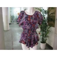 Quality Silk Print Blouse for sale