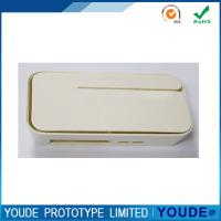 China Small Order Vacuum Casting Prototyping Service Plastic Case With Beige Painting on sale