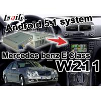 Quality Mercedes benz W203 C class Navigation video Interface Box wifi 3D navi youtube for sale