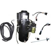 Quality DIESEL SPACE ENGINE COOLANT TRUCK CABIN HEATER BLACK 3000 WATT 24V CE APPROVED for sale