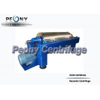 Sewage Treatment Decanter Centrifuges Sludge Thickening and Dewatering for sale
