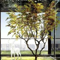 Modern Artificial Maple Tree 2m Height For Commercial Buildings for sale
