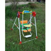 Buy 2012 Luxury Foldable Baby Swing with Foot Stand and Music at wholesale prices
