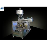 Quality Paste Filling And Packaging Machines Automatic Pneumatic Piston Pump Driven for sale