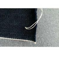Buy Bags / Garment Heavy Denim Fabric , White Cone Denim For Rough Jeans W89333 at wholesale prices