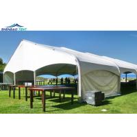 China 25x60m 1000 People PVC Large Curved Marquee Tent For Football Stadium on sale