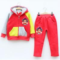 Quality 2014 Modern child suit wholesale hot child clothes sets winter for sale