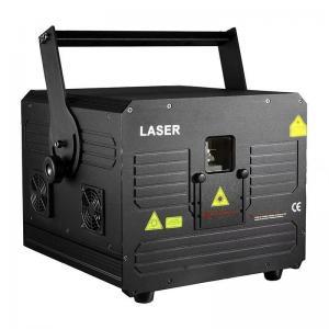 China 1W RGB DMX Control DJ Disco Laser Lights , Programmable Animation Laser Light on sale