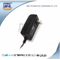 Buy cheap CCTV Cameras 12 Volt AC DC Adapter 47Hz - 63Hz US Wall Plug Adapters product