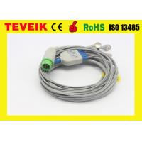 Buy cheap Kontron 5 leads ECG Cable For Patient Monitor ,Round 12pin / IEC from wholesalers