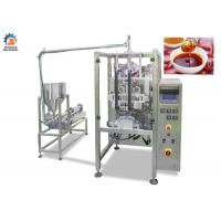 China 220 / 380V Milk Packaging Machine, Touch Screen Operate Liquid Pouch Packing Machine on sale