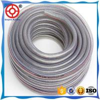 Quality HEAT RESISTANT HIGH PRESSURE COLD RESISTANT SUCTION  PVC STEEL WIRE HOSE for sale
