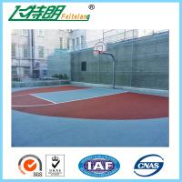 Quality Recycled Basketball Court Flooring Gym Floor Coating Tennis Court Paint 3mm for sale