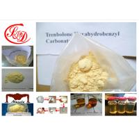 Quality Tren Steroid Parabolan Yellow Powder Trenbolone Hexahydrobenzyl Carbonate for Lean Muscle for sale