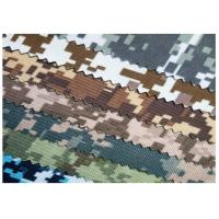 China High Tear Camo Cotton Fabric Fire Resistant Clothing Material For Uniform on sale