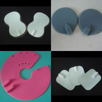 China silicon rubber conductive tens electrode pad with sticky gel on sale