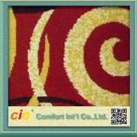 Quality Eco-friendly Polyester Carpet Fabric / Exhibition Carpet Cloth for Hotel or Car Upholstery for sale