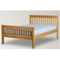 Quality Beautiful Pine Wood Frame Bed / Timber Frame Bed For Kids Standard Room for sale