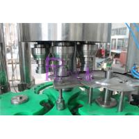 Quality Touch Rotary Juice Filling Machine 18 Heads 4.5KW Stainless Steel for sale