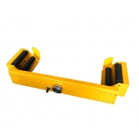 Quality Yellow Cylinder Small Volume Vehicle Security Lock For Inclined Road for sale