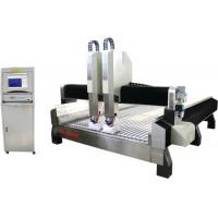 Quality High Efficiency Stone CNC Engraving Machine Double Row Four Row Slide for sale