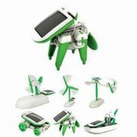 China 6-in-1 Solar DIY Toy Kit, No Batteries Required on sale