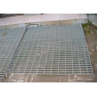 China Hot Dip Galvanized Steel Grating 300 - 1000mm Width 300 - 6000mm Length on sale