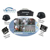 Buy cheap 4CH 1080P AHD 3G 4G WIFI and GPS mobile NVR for bus truck taxi product