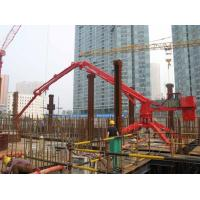 Quality Electrical System Spider Concrete Pump Placing Boom , Concrete Placement Boom HG17 for sale