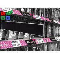 Quality High Difinition COB LED Shop Signs Shelf Screen Signage Board For Supermarket Video Display for sale