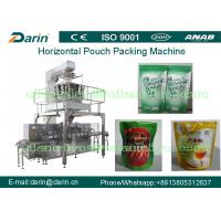 China Dried Pineapple / Rice/ sugar / pet food Automatic Rotary  Pouch Packaging Machine Unit on sale