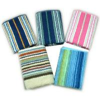 Quality Yarn Dyed Stripe Dobby Bath Towel - 2 for sale