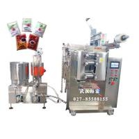 Quality VFFS Full Automated Sauce Packing Machine With 3 / 4 Sides Seal , 4KW/AC 380V for sale