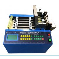 China Automatic Universal Cutting Machine For Hoses And Tubes , Tube Cutter Machine on sale