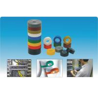 China Yellow / Black / White Self-Adhesive Tapes Insulation PVC Electrical Tapes on sale