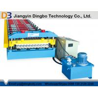 Quality Galvanized Steel Sheet 0.3-0.8 Thickness Corrugated Roll Forming Machine for sale