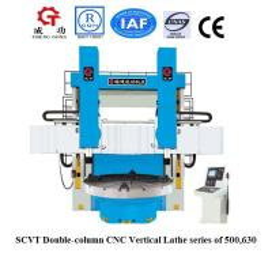 China SCVT500H/W China Double column vertical turret lathe CNC VTL on sale
