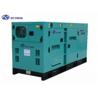 Buy cheap Low Noise Standby 275 kVA Diesel Generator With SDEC Engine For School , Silent Diesel Generator product
