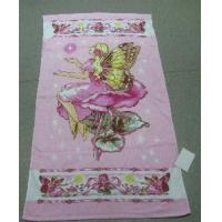 Quality Terry Reactive Printed Beach Towel for sale
