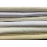 Quality Eco Friendly Grey Cotton Polyester Blend Fabric For Shirt Dyeing / Printing for sale