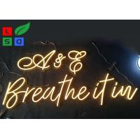 Buy cheap Warm White, Cool White Customized LED Neon Flex Letter Sign For Restaurant And from wholesalers
