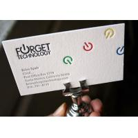 Quality printed business cards paper name cards in high quality for sale