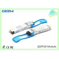 100G QSFP28 Transceivers SR4 MMF 850nm Reach 100M , MTP / MPO connector for sale
