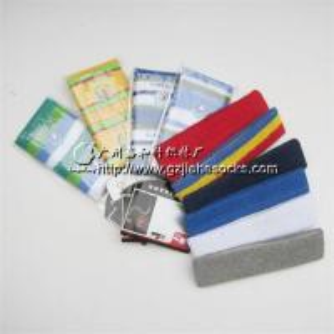 China Terry Cotton Sport Safety Sweatband Wristband arm sweatband on sale