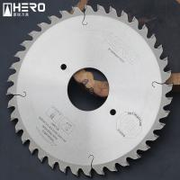 Quality Multiple Board Artificial Stone Fiber Cement Saw Blade With Anti Chipping Edge for sale