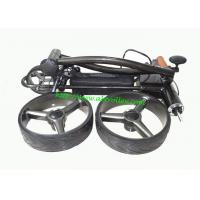 China Beautiful X3E foldable electric push golf trolley with lithium battery tubular motors on sale